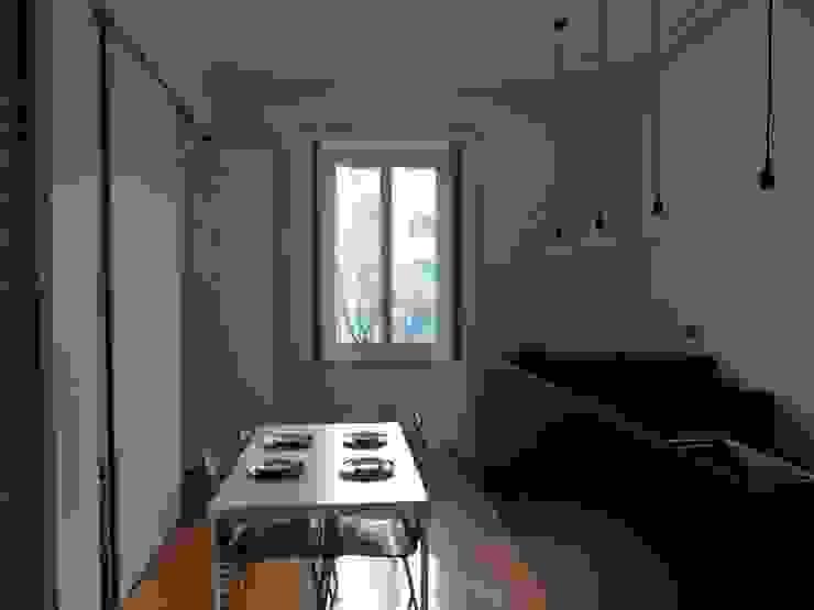 gk architetti (Carlo Andrea Gorelli+Keiko Kondo) Minimalistische Esszimmer