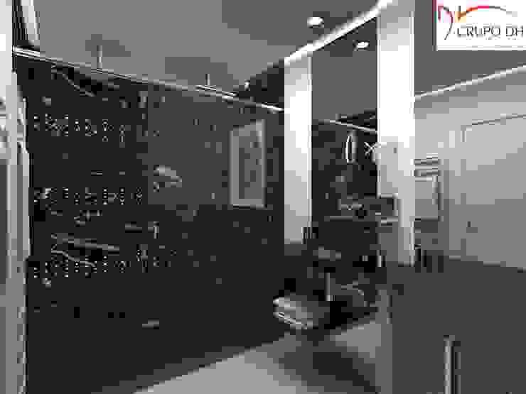 Grupo DH arquitetura BañosBañeras y duchas Negro