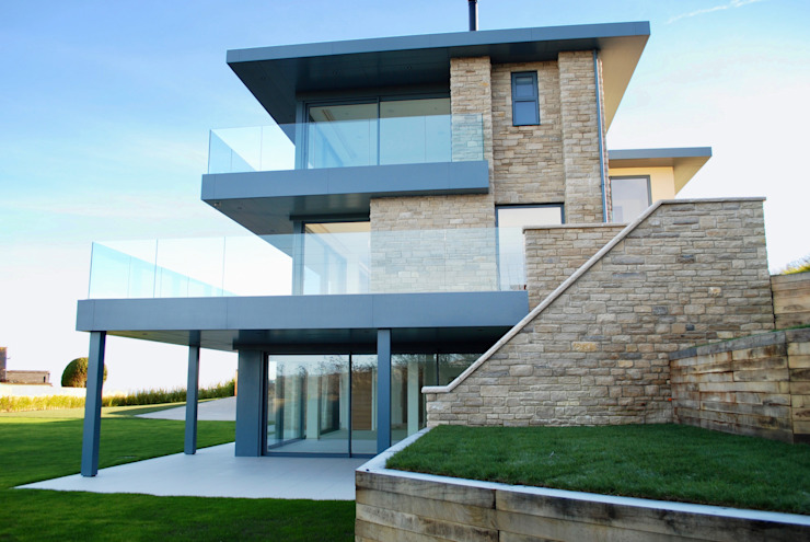 Family Home in Swanage, Dorset David James Architects & Partners Ltd Modern houses