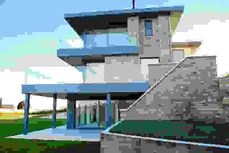 Family Home in Swanage, Dorset Casas modernas de David James Architects & Partners Ltd Moderno