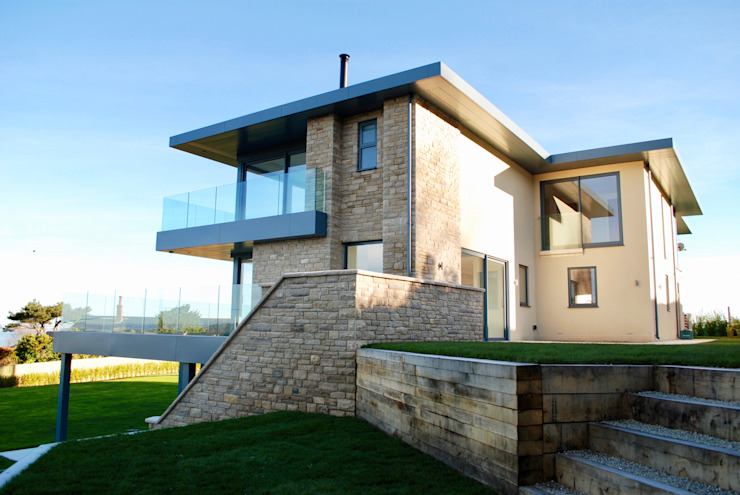 Family Home in Swanage, Dorset Modern houses by David James Architects & Partners Ltd Modern