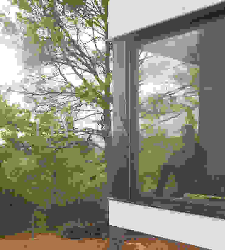 Ruang Studi/Kantor Modern Oleh Casas inHAUS Modern