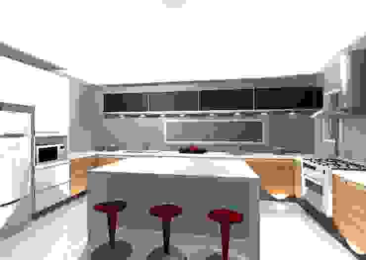 Cozinha por Grupo DH arquitetura Moderno