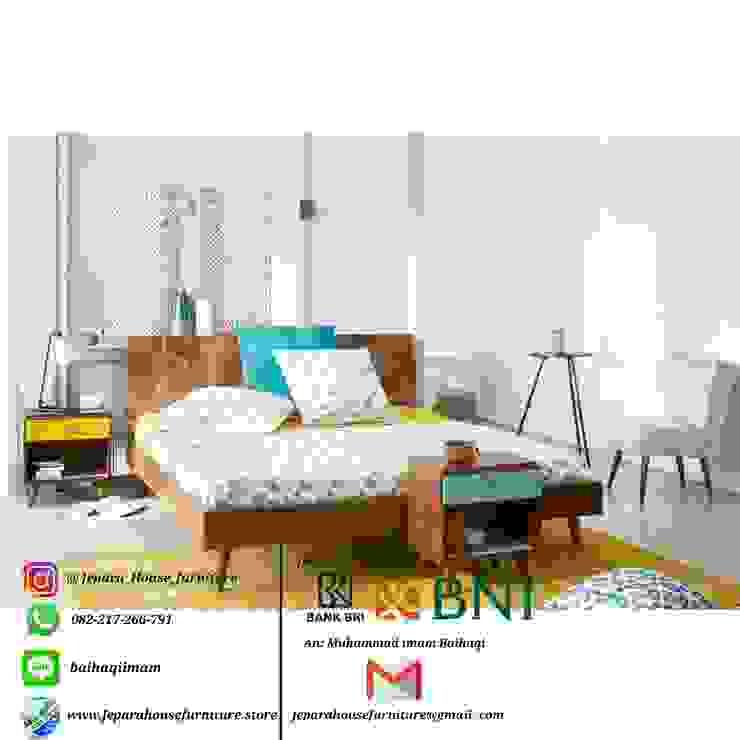 set tempat tidur minimalis retro Oleh jeparahousefurniture Minimalis Kayu Wood effect