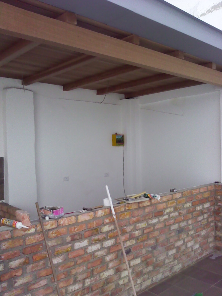 Remodelacion. de Omar Interior Designer Empresa de Diseño Interior, remodelacion, Cocinas integrales, Decoración Rústico Ladrillos