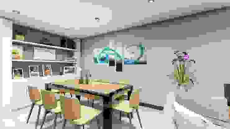 Salle à manger moderne par Minkarq. Arquitectura y construcción Moderne