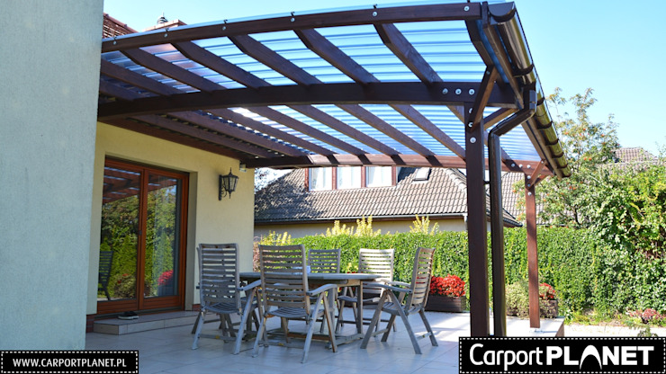 Carport Planet Modern conservatory