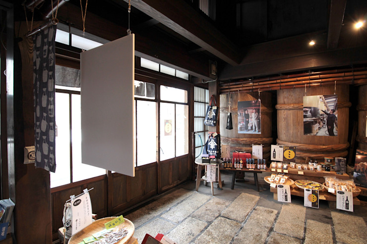 kinomotohonmono-Exhibition オリジナルな 壁&床 の ALTS DESIGN OFFICE オリジナル