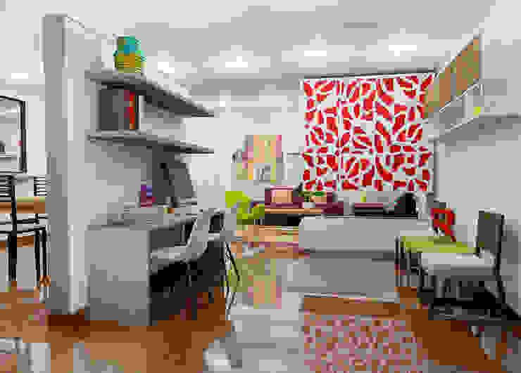 Modern study/office by Omar Interior Designer Empresa de Diseño Interior, remodelacion, Cocinas integrales, Decoración Modern Wood Wood effect
