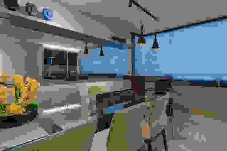 Emmanuelle Eduardo Arquitetura e Interiores 餐廳