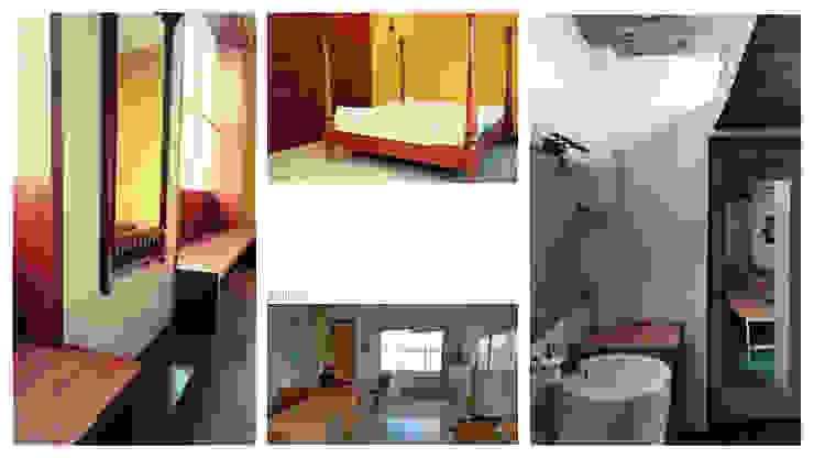 Apartment + Terrace Garden | Noida Mediterranean style bedroom by Inno[NATIVE] Design Collective Mediterranean