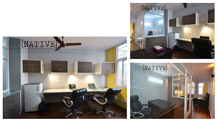 Office   Delhi Minimalist offices & stores by Inno[NATIVE] Design Collective Minimalist