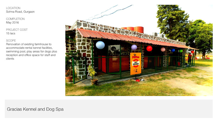 Dog Kennel + Spa | Gurgaon by Inno[NATIVE] Design Collective Rustic