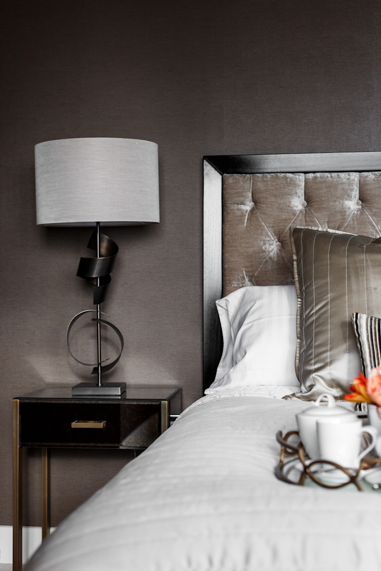 Penthouse bedroom by SMB Interior Design SMB Interior Design Ltd Modern style bedroom