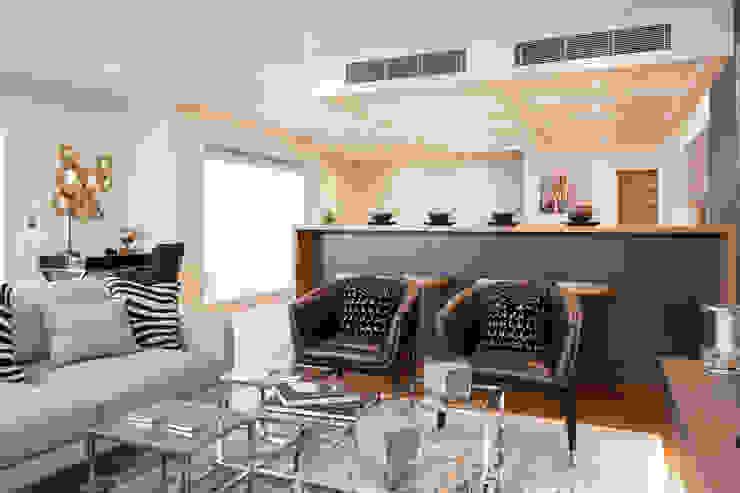Penthouse interior by SMB Interior Design SMB Interior Design Ltd Modern living room