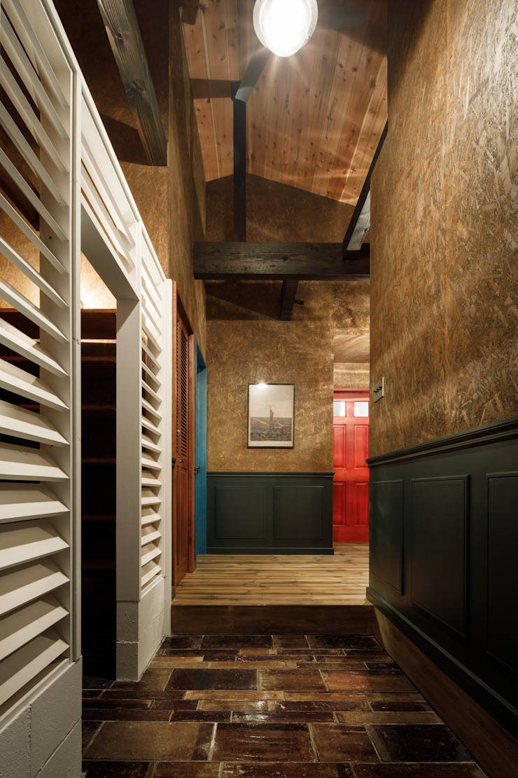 Ingresso, Corridoio & Scale in stile industriale di dwarf Industrial