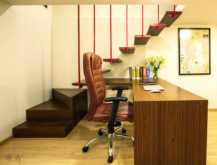 Office for Kakode & Associates, Mahim Minimalist offices & stores by Design Ka:Tha Minimalist