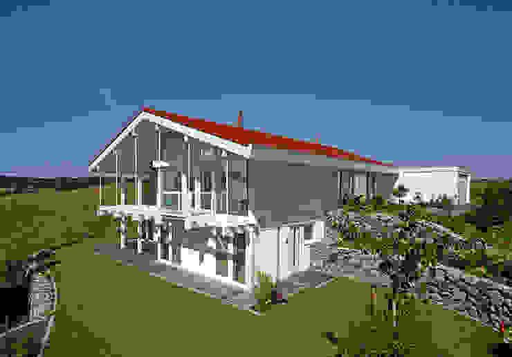 Casas modernas de DAVINCI HAUS GmbH & Co. KG Moderno