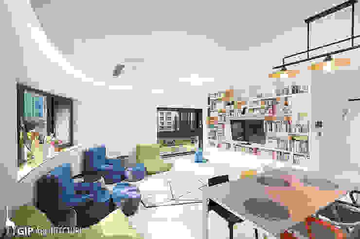 Salones modernos de GIP Moderno