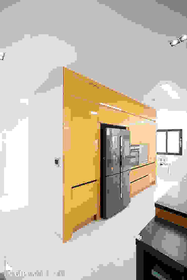 現代廚房設計點子、靈感&圖片 根據 GIP 現代風