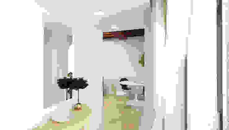 Ingresso - Casa in Via San Martino - Pisa Ingresso, Corridoio & Scale in stile moderno di Studio Bennardi - Architettura & Design Moderno