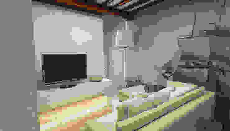 Salotto - Casa in Via San Martino - Pisa Camera da letto moderna di Studio Bennardi - Architettura & Design Moderno