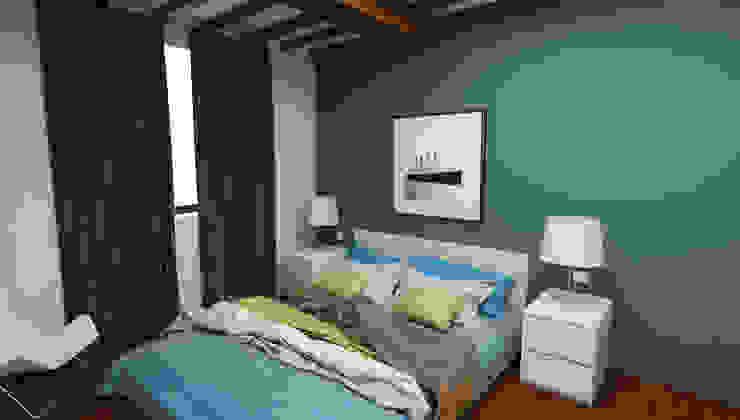 Camera piccola - Casa in Via San Martino - Pisa Camera da letto moderna di Studio Bennardi - Architettura & Design Moderno