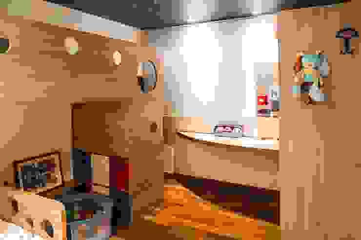 Dormitório Irmãos homify Quarto infantil moderno