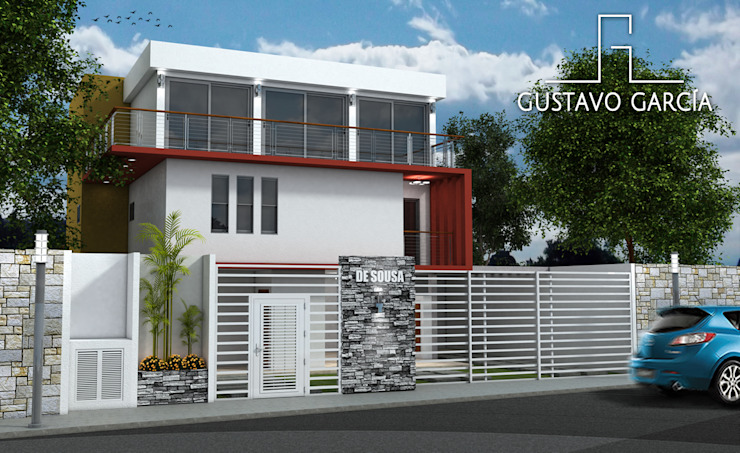 Casa De Sousa de Arq. Gustavo García Moderno