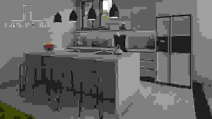 Interiorismo Casa De Sousa Cocinas de estilo moderno de Arq. Gustavo García Moderno