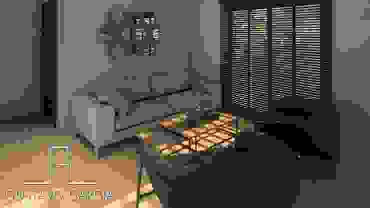 Interiorismo Casa De Sousa Salas de estilo moderno de Arq. Gustavo García Moderno