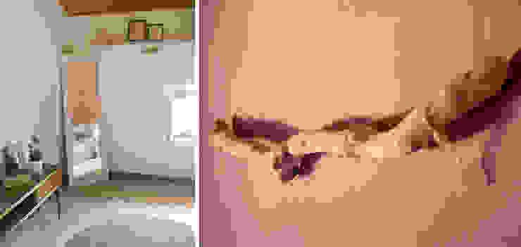 Dettagli camera. : Camera da letto in stile  di Rifò