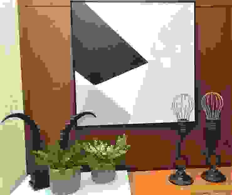 Ambiente de Circulação com Charme por Sgabello Interiores Moderno Cerâmica