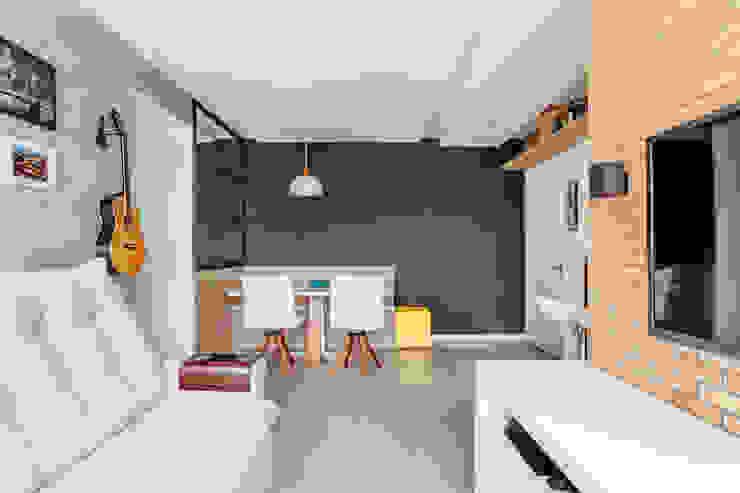 Apartamento Jovem Moderno Camila Chalon Arquitetura Salas de jantar modernas
