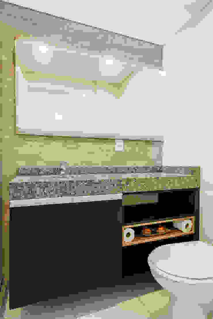 Camila Chalon Arquitetura Modern style bathrooms