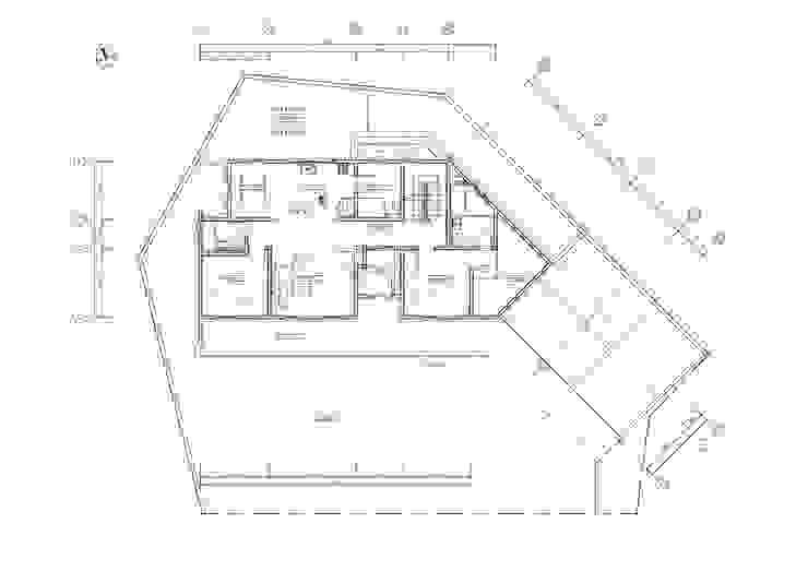 목동 단독주택: 제이디에이건축사사무소의 현대 ,모던
