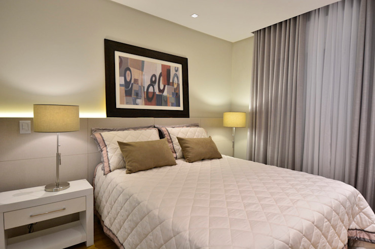 Modern style bedroom by Stúdio Márcio Verza Modern MDF