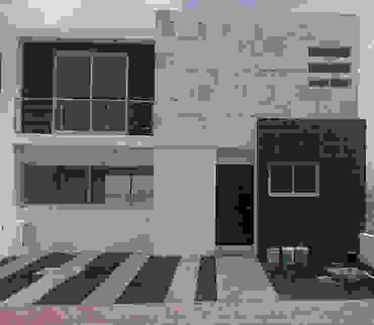 Fachada de casa: Casas ecológicas de estilo  por Kiinch