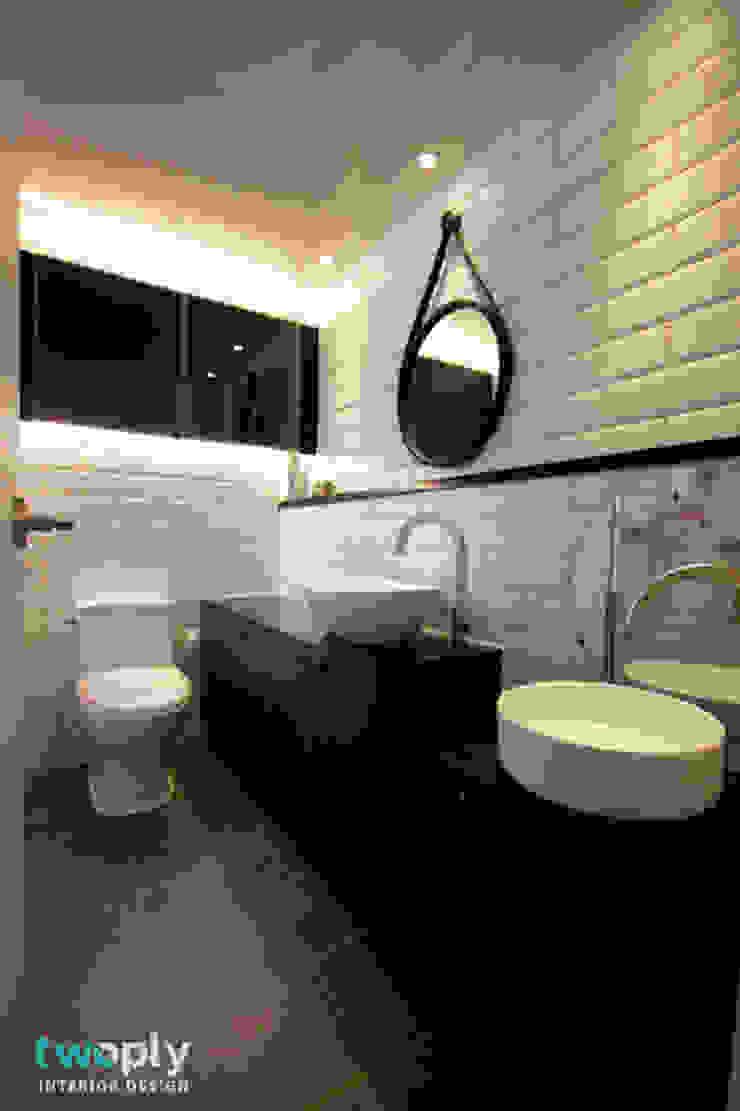 전주 신시가지 아이파크 아파트 인테리어 모던스타일 욕실 by 디자인투플라이 모던
