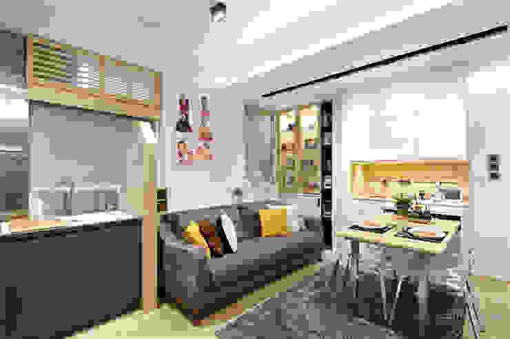 Sai Wan Ho, Hong Kong, Interior Design by Darren Design: eclectic  by Darren Design & Associates 戴倫設計工作室, Eclectic