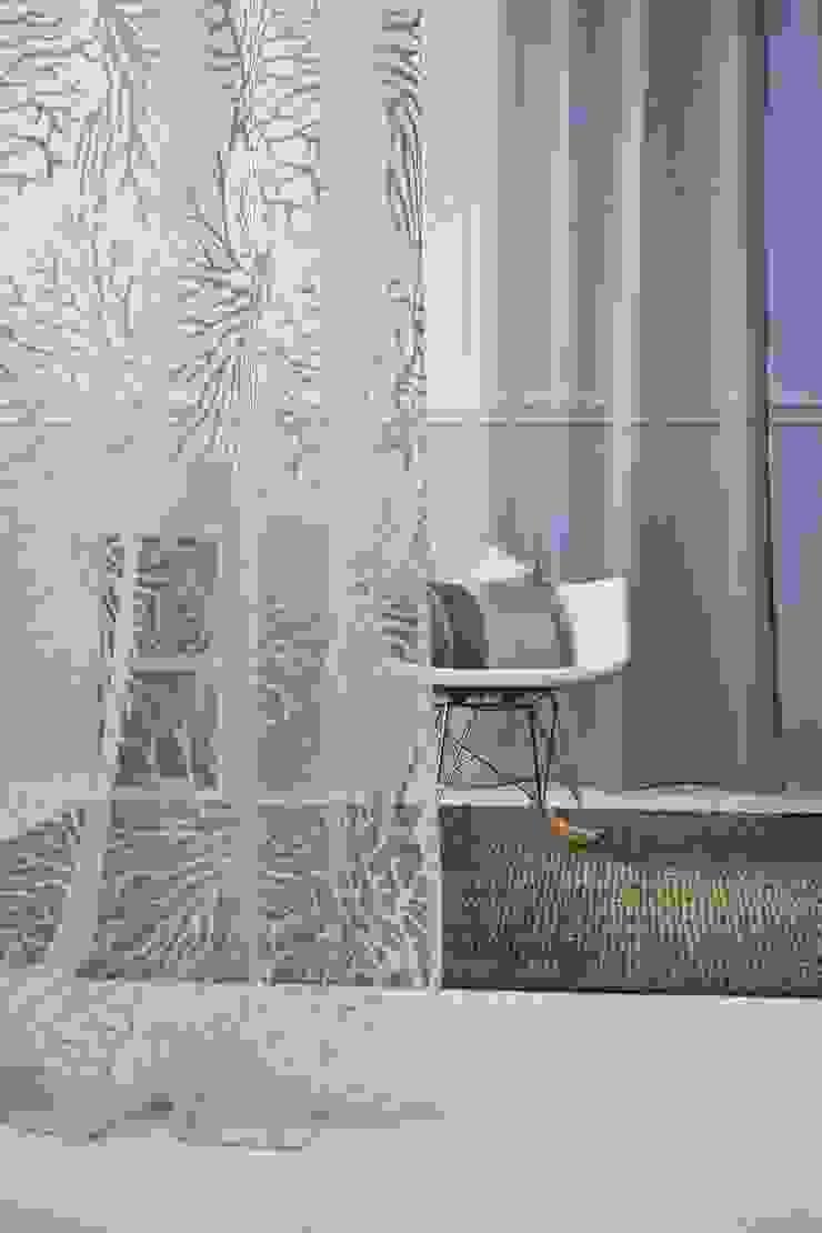 Alfred Apelt GmbH Ruang Keluarga Modern White