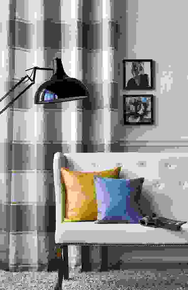 Alfred Apelt GmbH Ruang Keluarga Modern Yellow