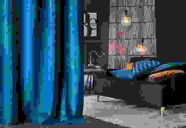 Alfred Apelt GmbH Ruang Keluarga Modern Turquoise