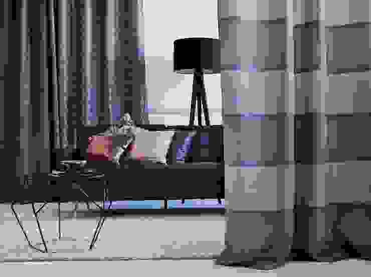 Alfred Apelt GmbH Ruang Keluarga Modern Pink
