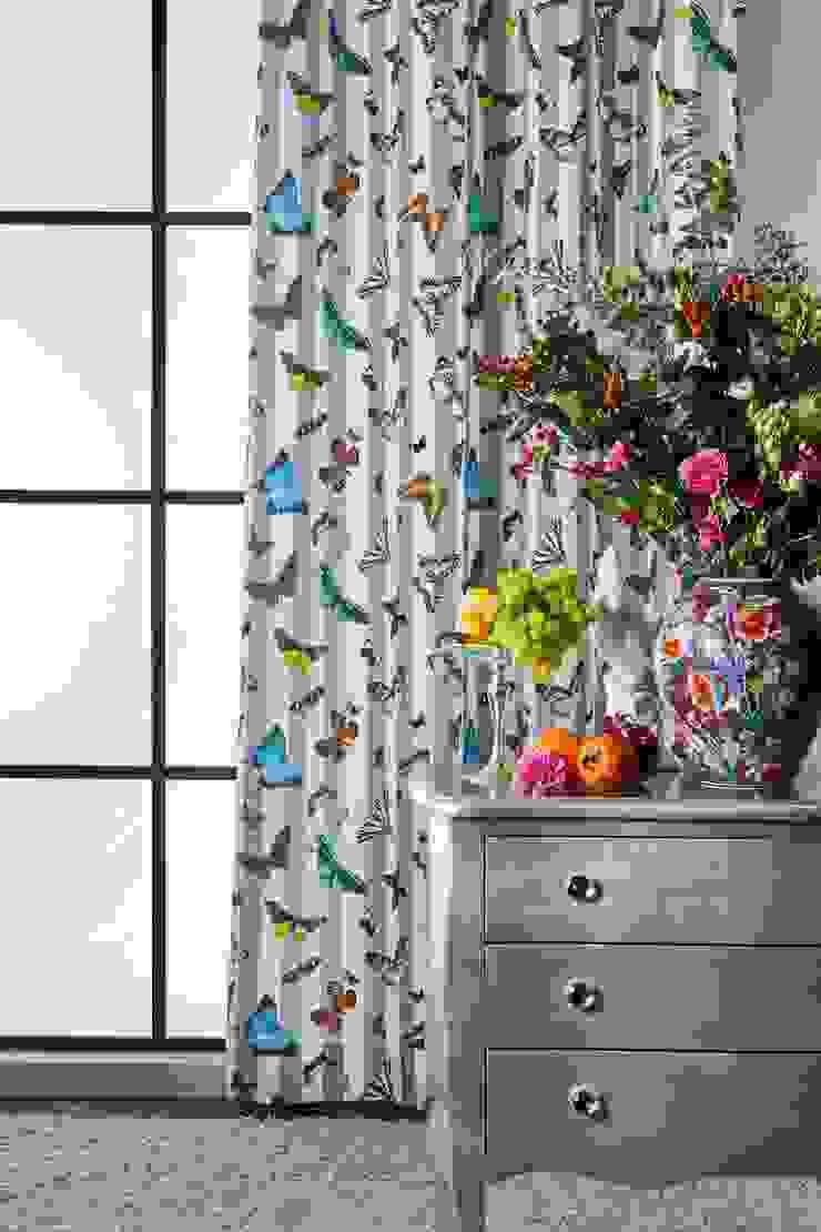 Alfred Apelt GmbH Ruang Keluarga Modern Multicolored