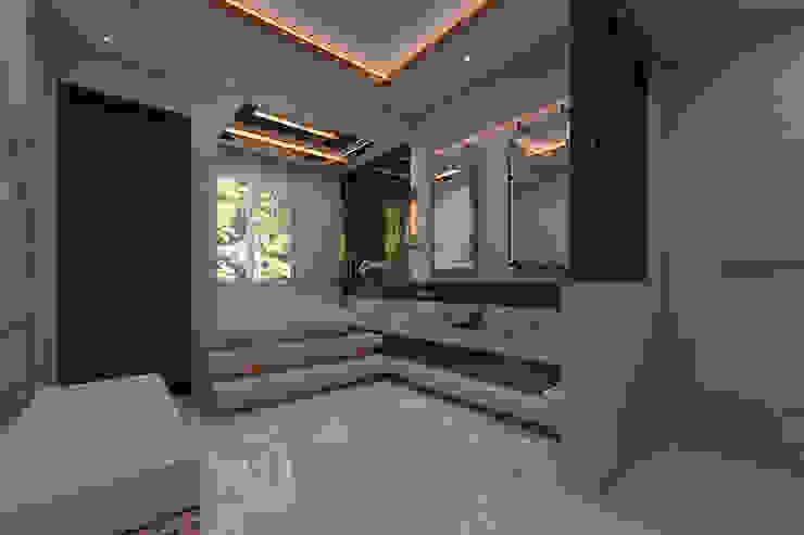 Luxury modern home :modern  oleh Magna Mulia Mandiri, Modern