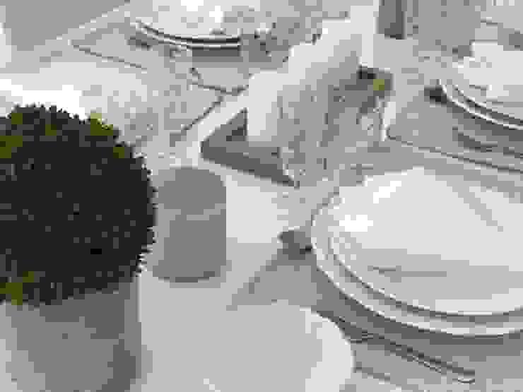 Tischdekoration Select Living Interiors Esszimmer im Landhausstil