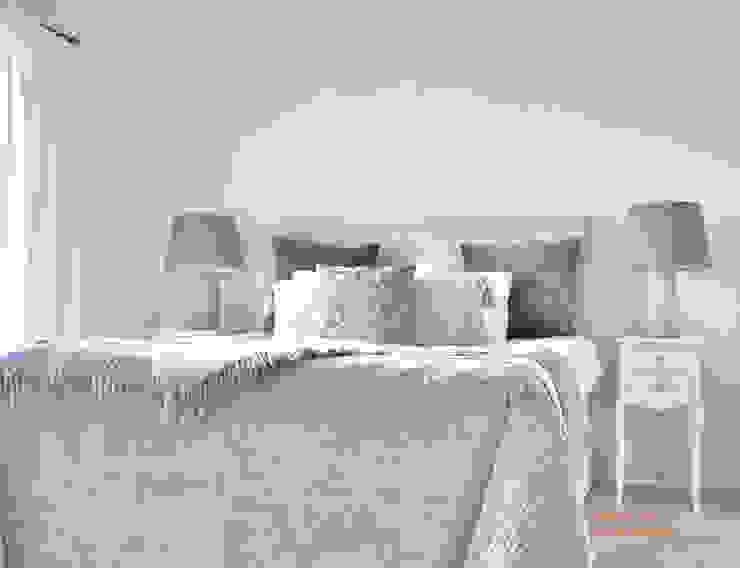 Schlafzimmer grau von Select Living Interiors Landhaus