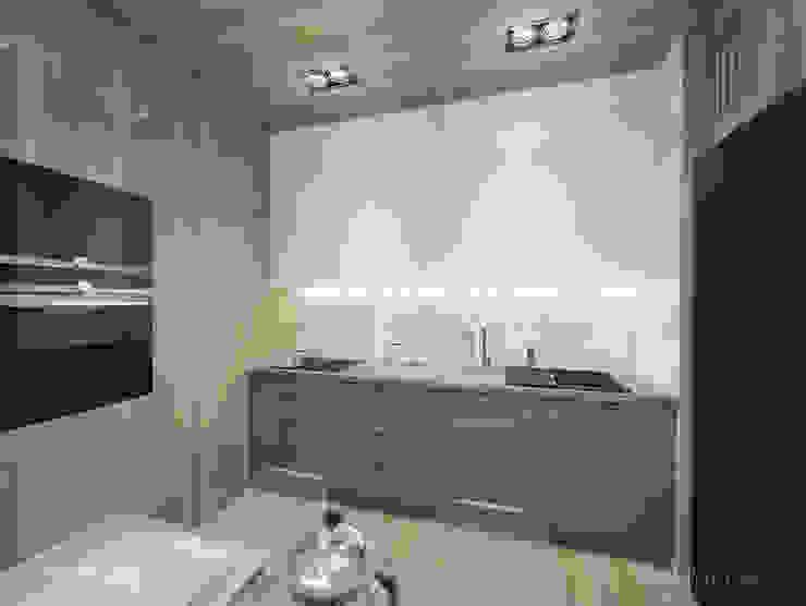 現代廚房設計點子、靈感&圖片 根據 INVENTIVE studio 現代風