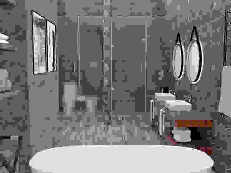 Modern bathroom by JACH Modern Wood Wood effect